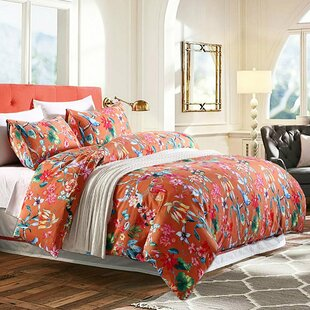 Tropical Floral Duvet Cover Set