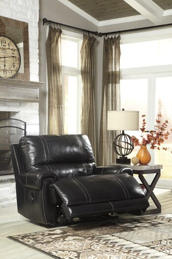 Paron Leather Wall Hugger Recliner