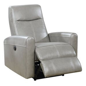 Deines Leather Power Recliner  sc 1 st  Wayfair & Power Recliners Youu0027ll Love | Wayfair islam-shia.org
