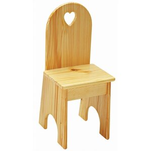 Heart Kids Desk Chair by Little Colorado