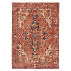 Serapi, New Zealand Wool, Red (12'x18') Area Rug