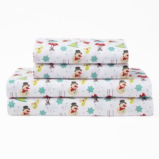 cotton christmas sheets wayfair
