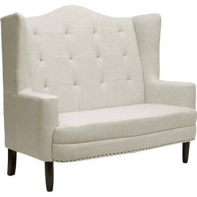Superbe Baxton Studio Kerrigan Contemporary Settee
