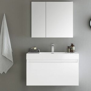 Floating Or Wall Mounted Vanities Youll Love Wayfair - Local bathroom vanities