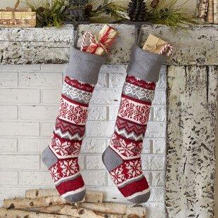 be7935fa7 Methuen Snowflake Classic Knit Stocking