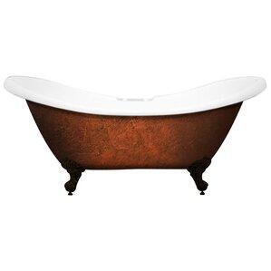 acrylic soaking tub 60 x 30. acrylic slipper clawfoot 70\ soaking tub 60 x 30 m