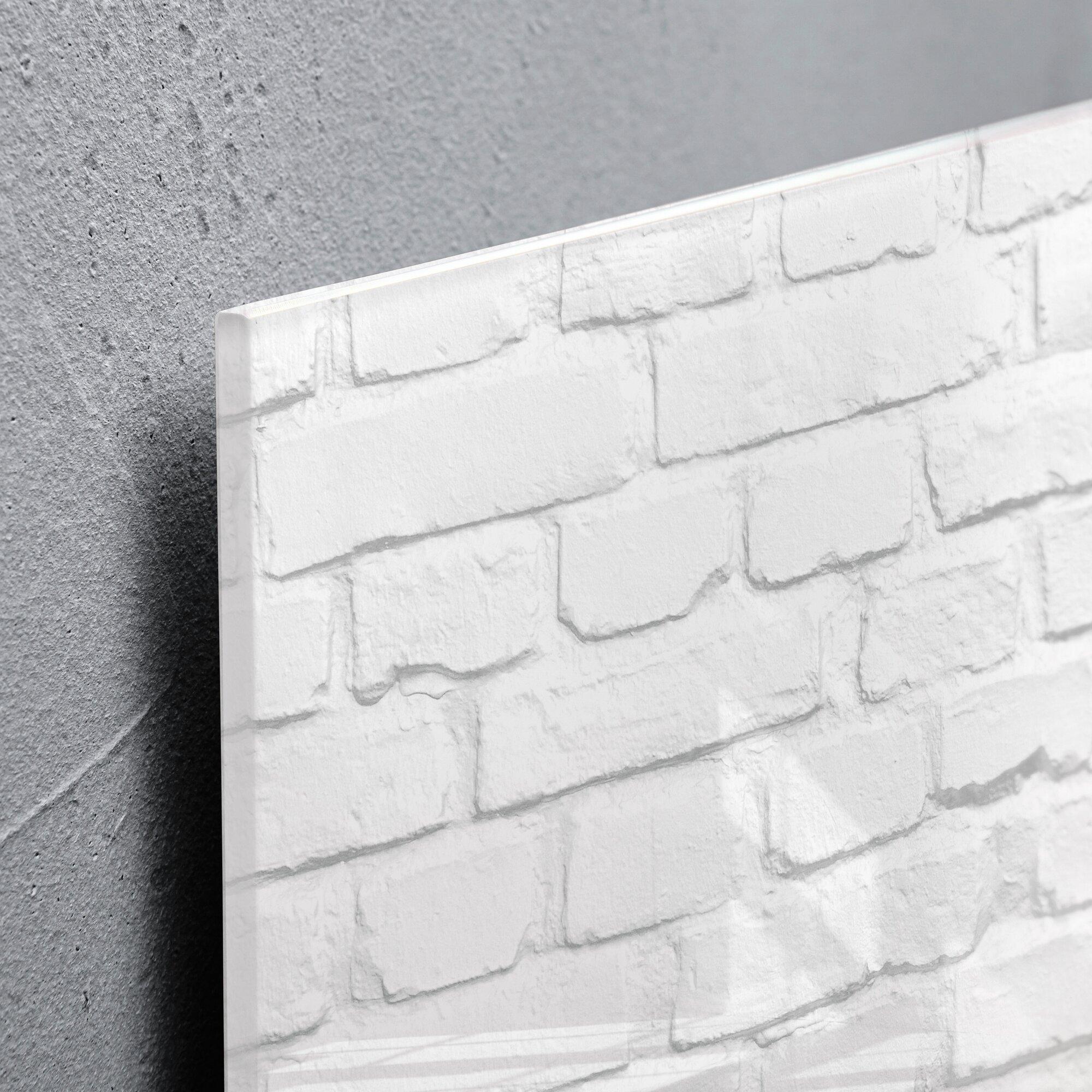 sigel magnetic glass dry erase board