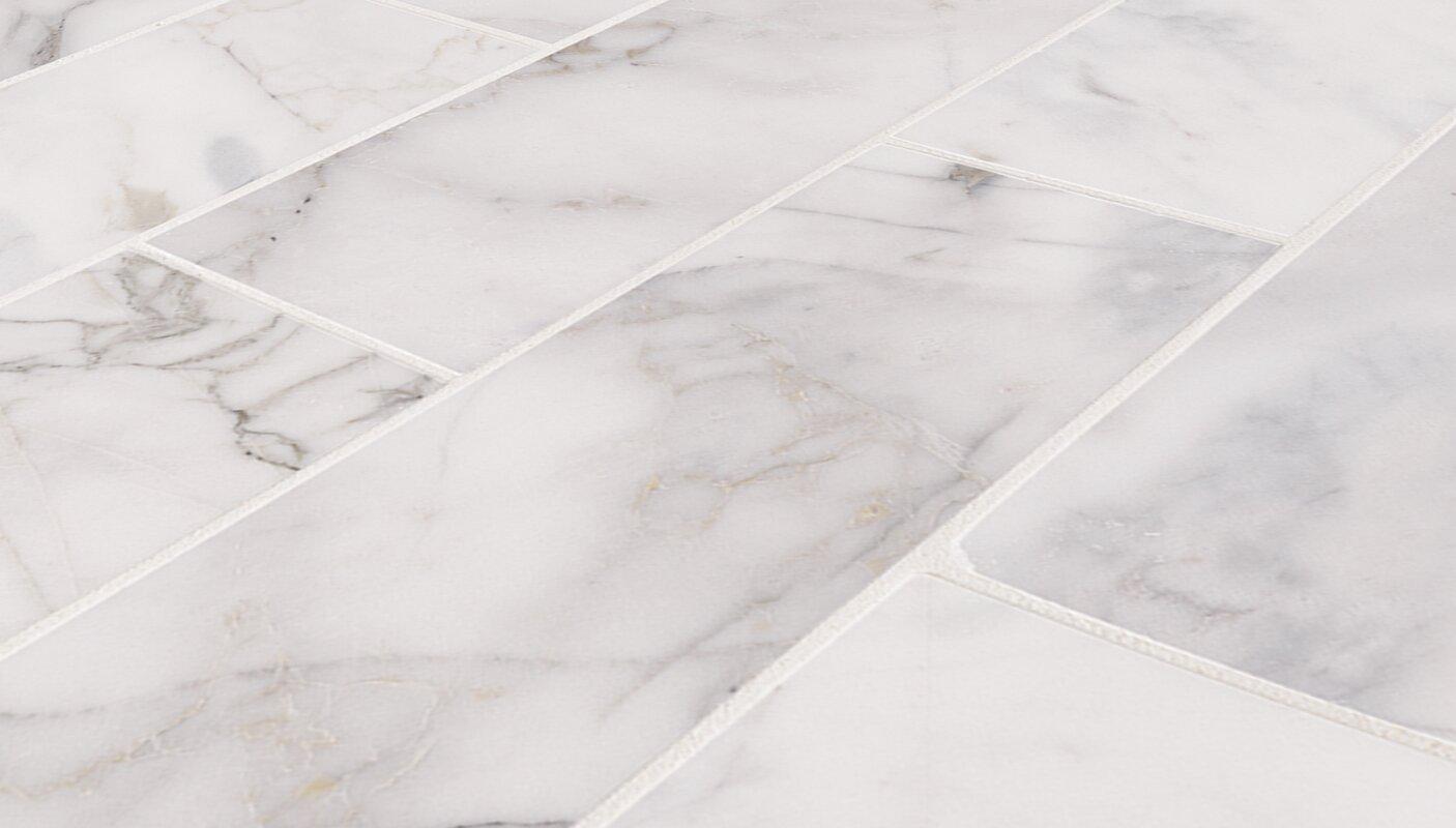 Msi calacatta cressa honed 4 x 12 marble subway tile in white calacatta cressa honed 4 x 12 marble subway tile dailygadgetfo Images