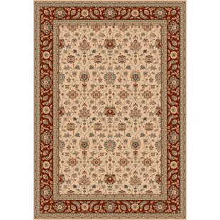 Isphahan Ivory Area Rug by Devos Caby
