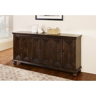 Ayleen 6 Door Credenza - Walnut 2019 Sale
