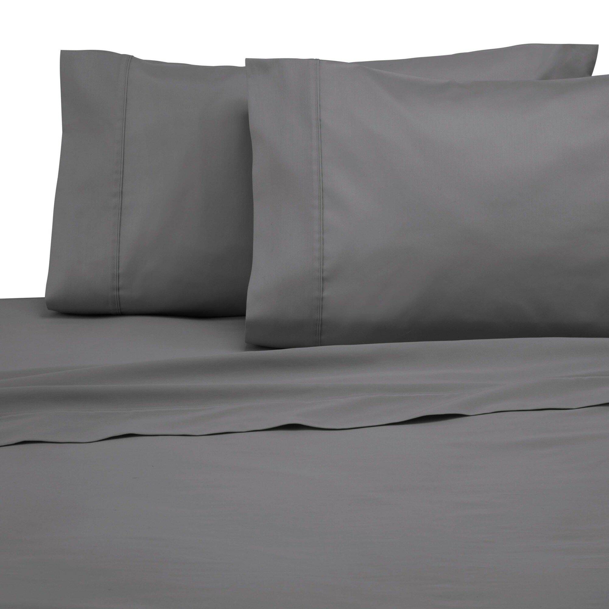 Modern Living 300 Thread Count Cotton 100 Sheet Set Reviews Wayfair