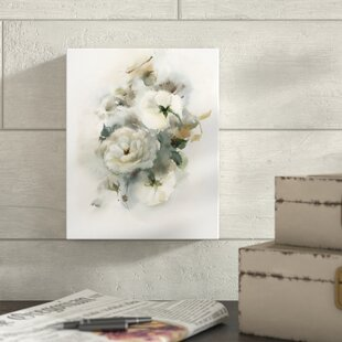 57c5fb44a83  White Rose Bouquet  Print on Wrapped Canvas