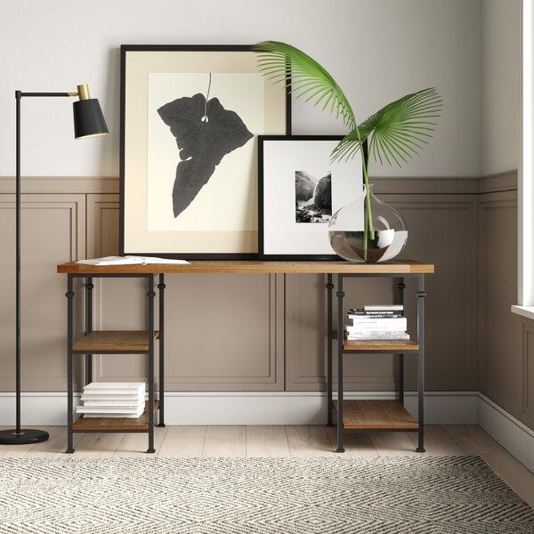 Mercury Row Zona Solid Wood Writing Desk Amp Reviews Wayfair