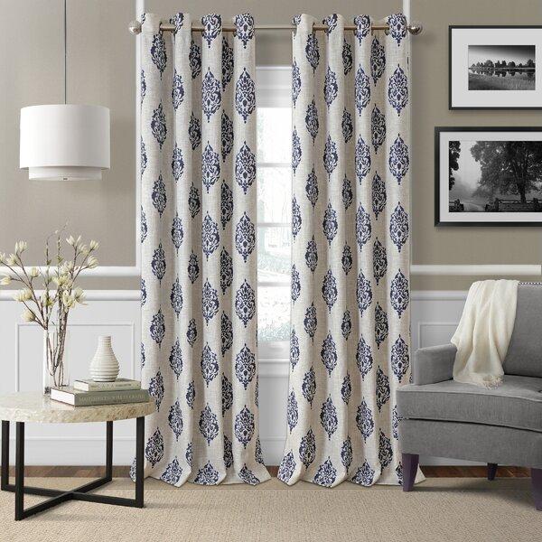 Medallion Curtains | Wayfair