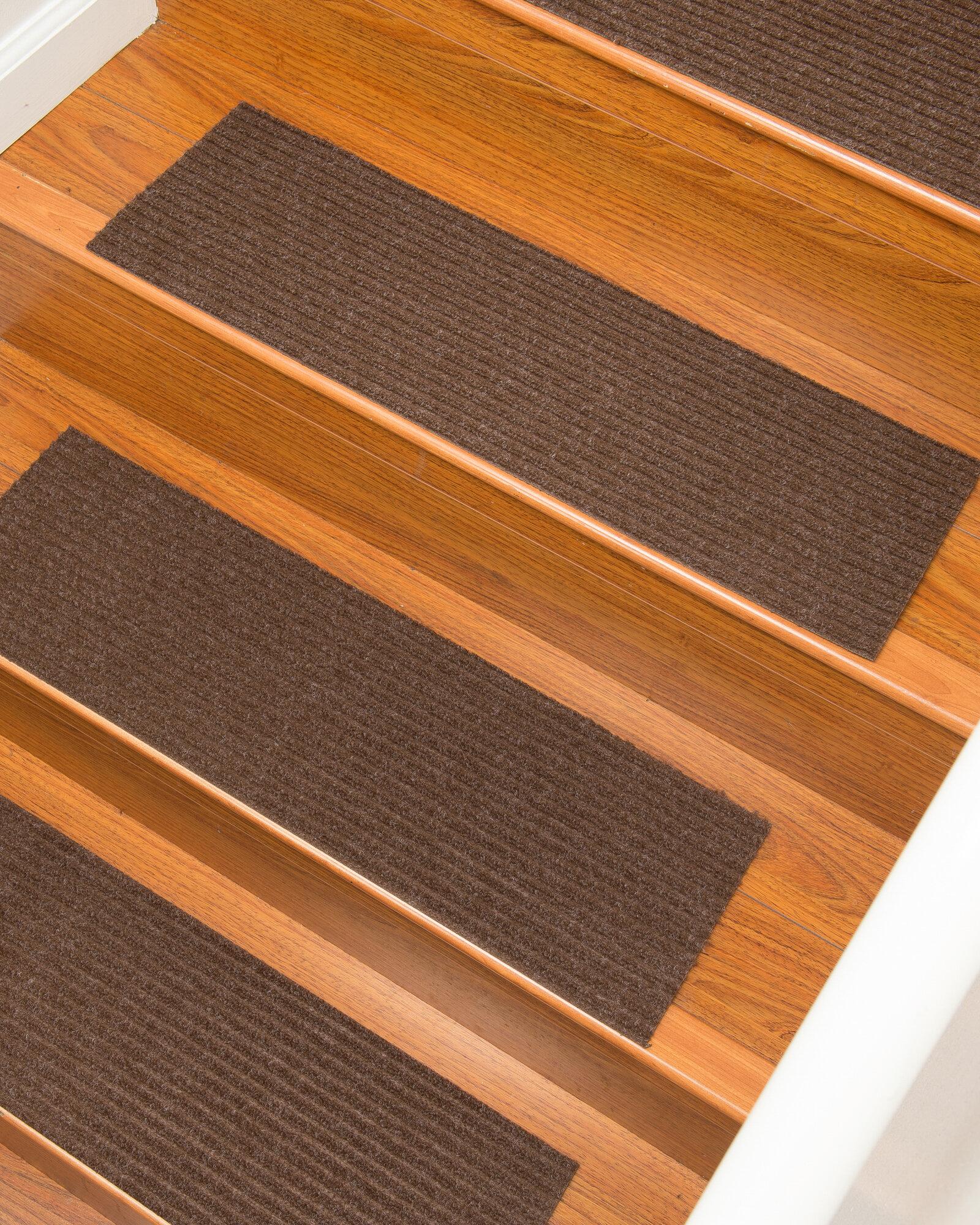 Latitude Run Schiffer Chocolate Stair Tread U0026 Reviews | Wayfair