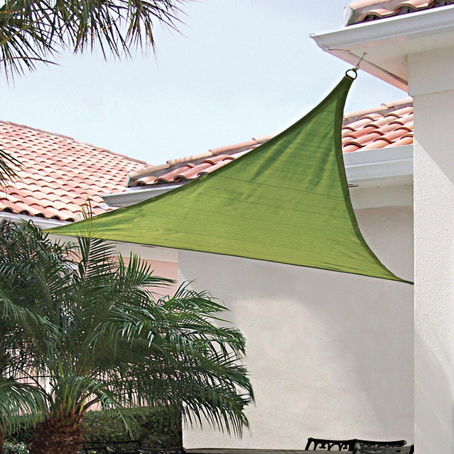 Shelterlogic 16 Triangle Shade Sail Wayfair
