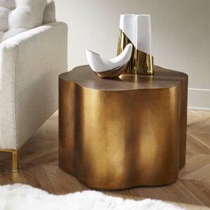 Loretto Copper End Table by Wade Logan