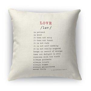 Love Is 2 Indoor Accent Pillow