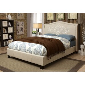 Celsie Upholstered Platform Bed by One Allium Way