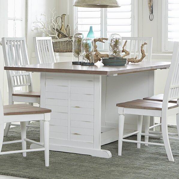 Oak Top Dining Table Part - 44: Oak Laminate Top Dining Table   Wayfair