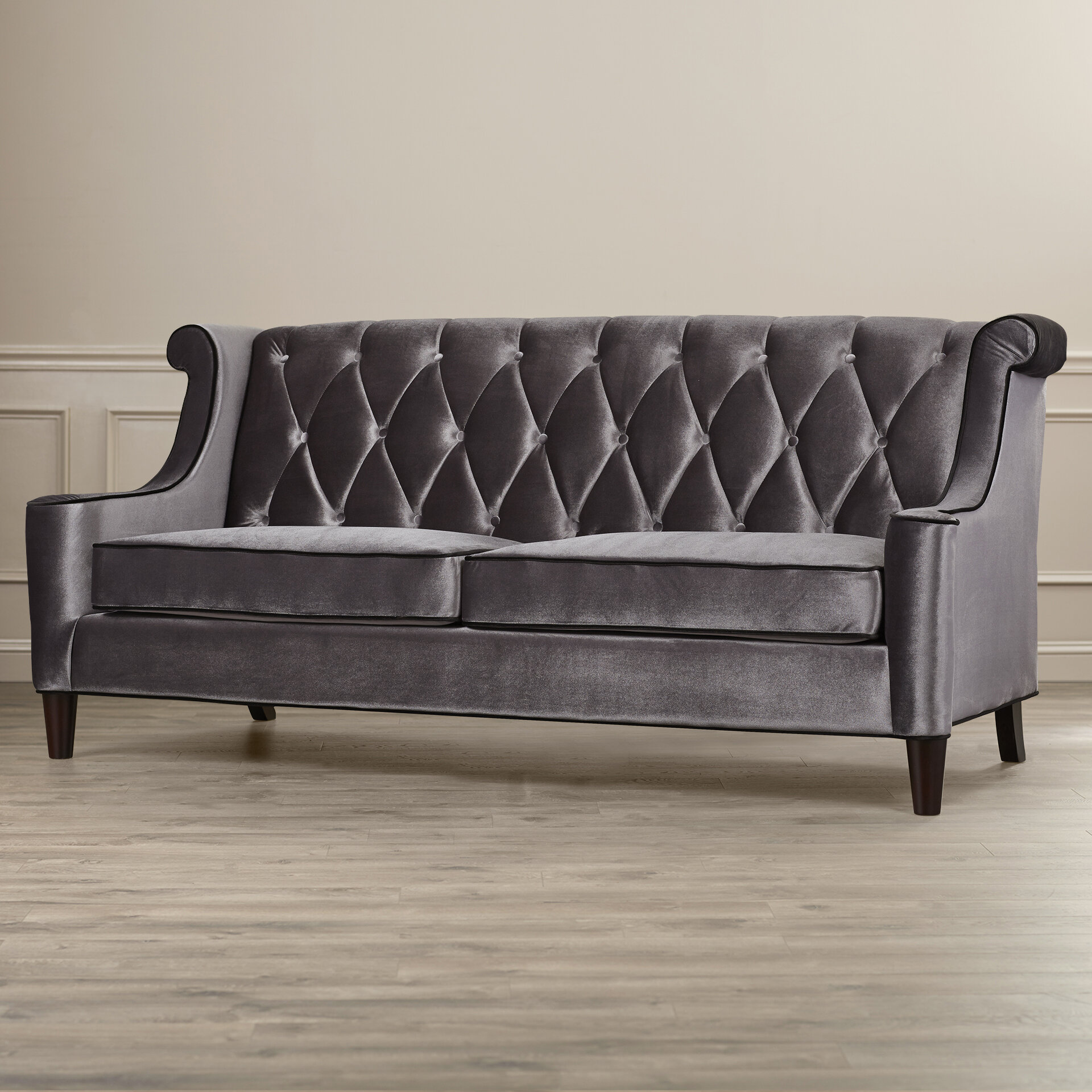 Willa Arlo Interiors Carressa Velvet Sofa U0026 Reviews | Wayfair