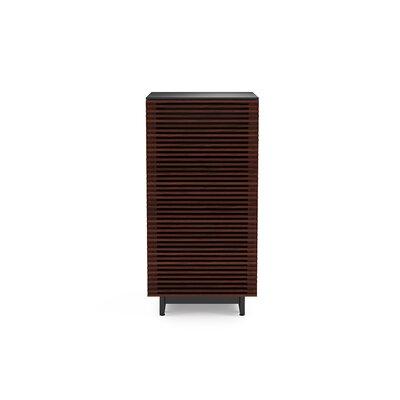 BDI USA Corridor AV Tower Color: Chocolate Stained Walnut