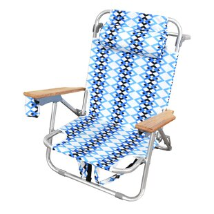St Augustine Reclining Beach Chair With Cushion