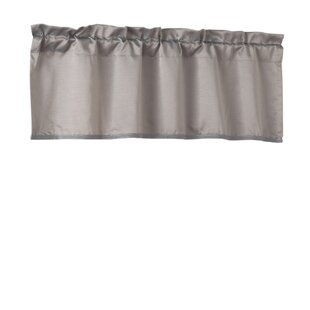 Gray Silver White Valances Kitchen Curtains Youll Love Wayfair