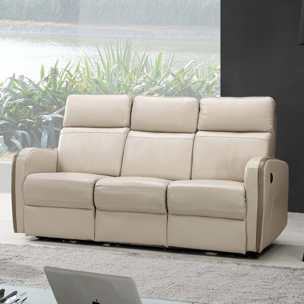 Creative Furniture Argentina Leather Reclining Sofa U0026 Reviews | Wayfair Part 78