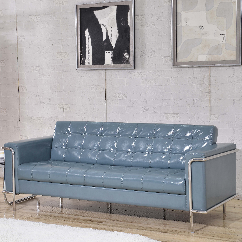 Wade Logan Myron Contemporary Sofa U0026 Reviews | Wayfair