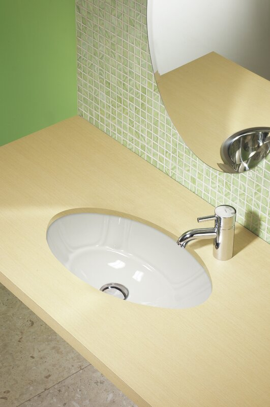 classically redefined ceramic oval undermount bathroom sink - Undermount Bathroom Sink Oval