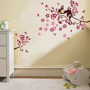 Monkey Tree Wall Decal Part 80