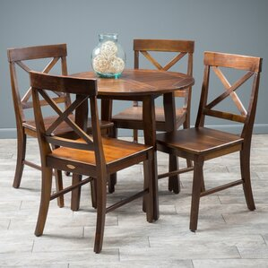 Derek 5 Piece Dining Set by Home Loft Concepts