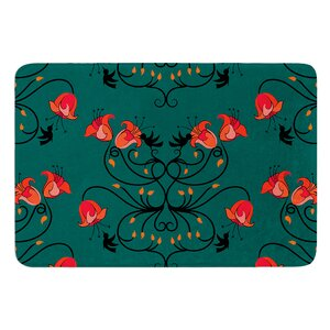 Hummingbird by Yenty Jap Bath Mat