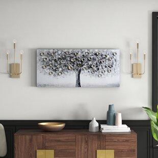 Silver Wall Art Wayfair Co Uk