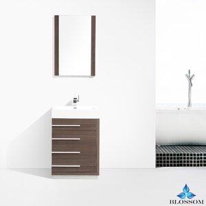 Manders 30 Single Bathroom Vanity Set with Mirror