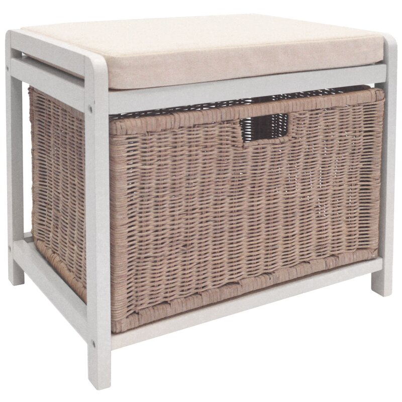House Additions Weave Laundry Storage Bench Amp Reviews