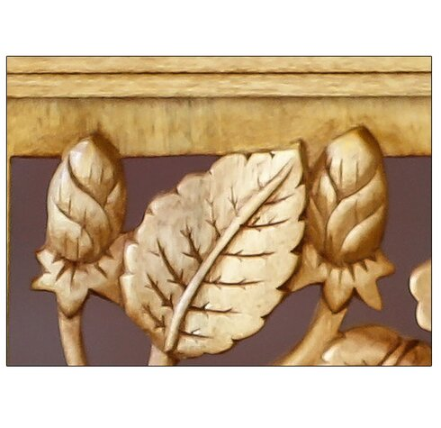 Novica Hibiscus Tree Wood Relief Panel Wall Décor | Wayfair