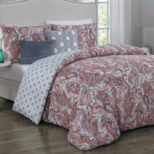 Thornburg 5 Piece Reversible Comforter Set
