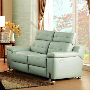 Vortex Reclining Loveseat by Homelegance