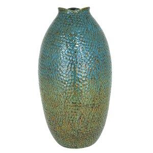 Beecher Oval Ceramic Floor Vase