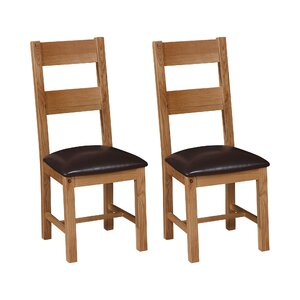 Shanklin Solid Wood Dining Chair (Set of 2)