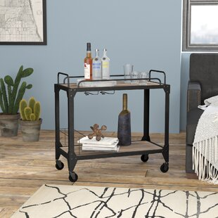 Crompton Industrial Bar Cart