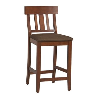 Albreda Wooden Stool Bar & Counter Stool