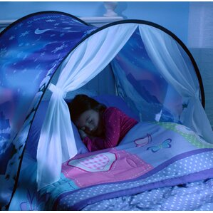 Dream Tents Winter Wonderland Play Tent & Full Size Bed Tents | Wayfair