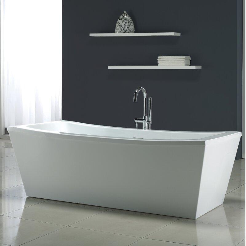 Ove Decors Terra 70 Quot X 34 25 Quot Soaking Bathtub Amp Reviews