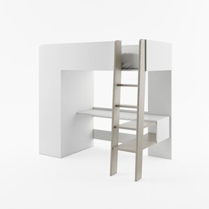 Dewey Extra Long Twin Loft Bed by Viv + Rae