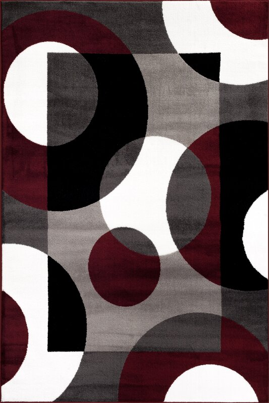 Ebern Designs Allison Burgundy Area Rug Amp Reviews Wayfair