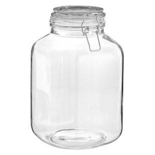 glass 3000 ml storage jar - Large Glass Jars With Lids