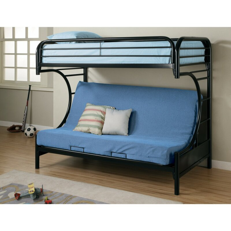 best authentic 1fb4c bb9fb Jenkinson Twin Futon Bunk Bed
